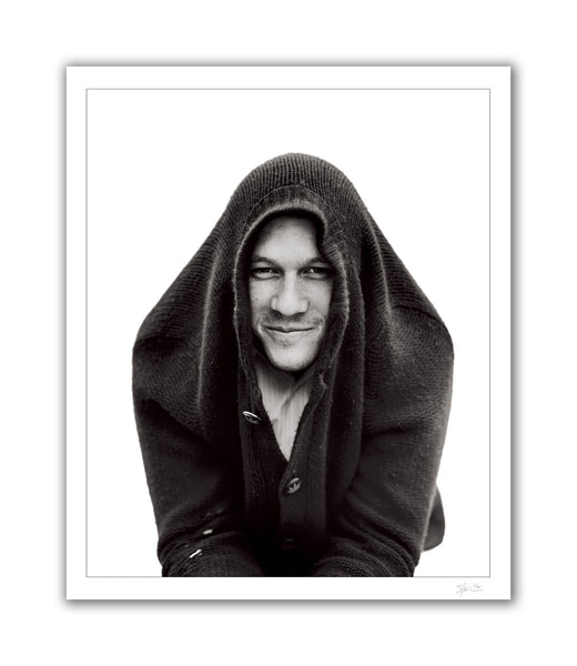 Heath Ledger with Sweater, Los Angeles, CA, 2006 Archival Pigment Print