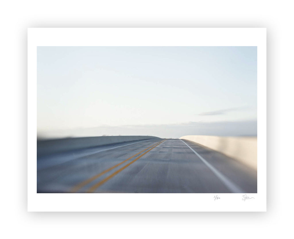 "Some Where Else ""River Bridge, Mississippi"" Archival Pigment Print"