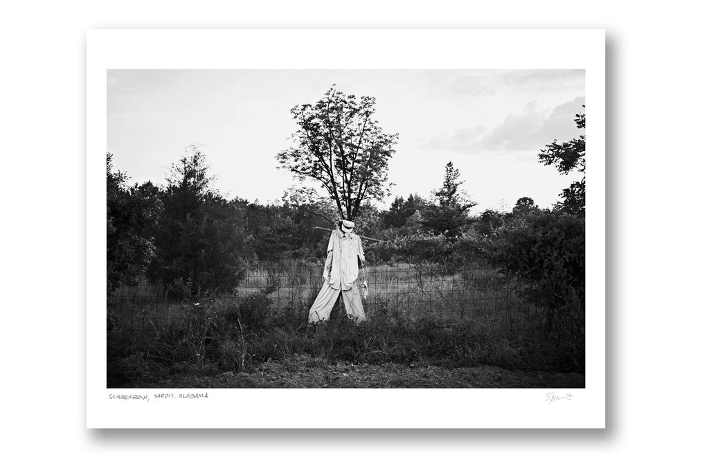 "Some Where Else ""Scarecrow, Sardis, Alabama"" Archival Pigment Print"