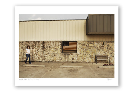 "Some Where Else ""Water Valley Clinic, Mississippi"" Archival Pigment Print"