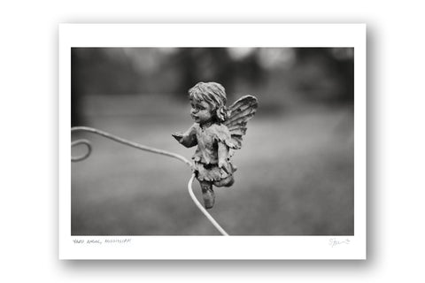 "Some Where Else ""Yard Angel, Mississippi"" Archival Pigment Print"