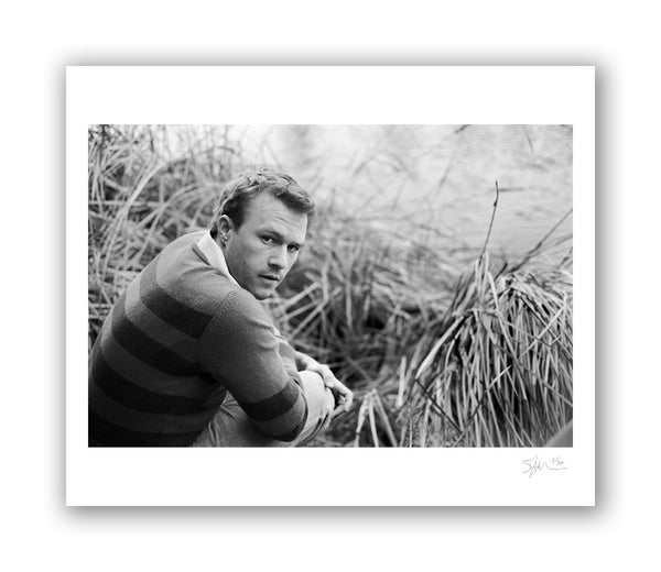 Heath Ledger with Water, Los Angeles, CA, 2006 Archival Pigment Print