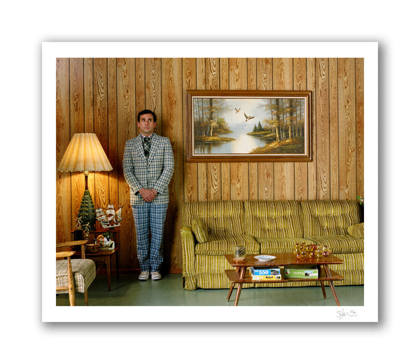 Steve Carell, Los Angeles, 2007 Archival Pigment Print