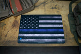 THIN BLUE LINE GUN CLEANING MAT