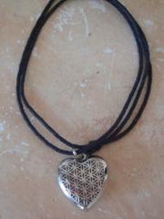 heart necklace diffuser