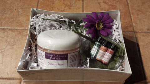 Bath Time Gift Set