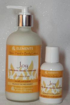 Organic Hand & Body Lotion- Joy