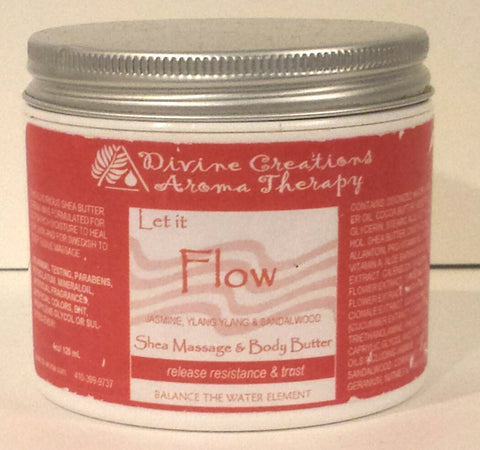 Shea Massage & Body Butter: Let it Flow