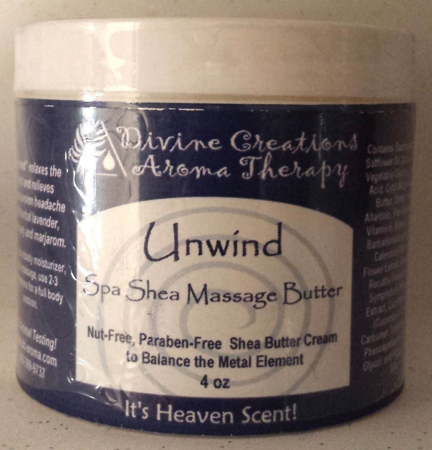 Shea Massage & Body Butter: Unwind