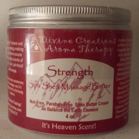 Shea Massage & Body Butter: Strength