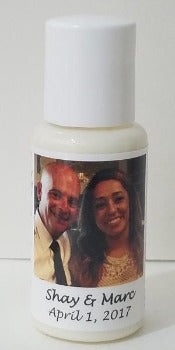 Organic Lotion Wedding Favor