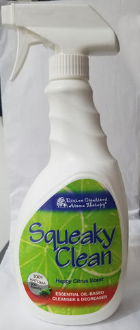 Squeaky Clean HAPPY LIME SCENT- Spray 24 oz