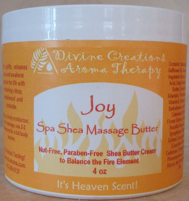 Shea Massage & Body Butter: Joy