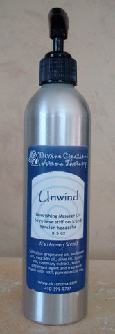 Nourishing Massage Oil: Unwind