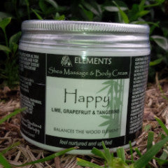 Shea Massage & Body Butter: Happy