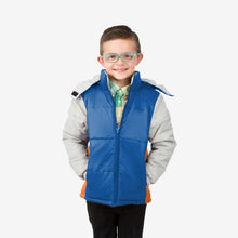 Space Combo Wholesale Boy Puffer Coat in Space Rescue Sold in Bulk