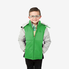 Space Combo Wholesale Boy Puffer Coat in Martian Green Sold in Bulk