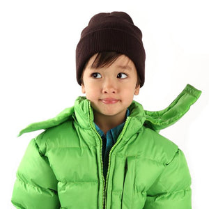 Child Winter Beanie Hats - Assorted Colors
