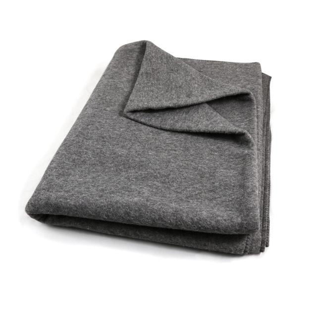 Grey Fleece Winter Blanket