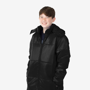 Wholesale Boy Coat Classic Combo in Black Sold in Bulk