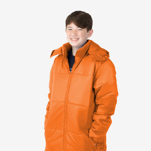 Wholesale Boy Coat Classic Combo in Orange