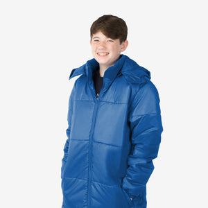 Wholesale Boy Coat Classic Combo in Blue Sold in Bulk