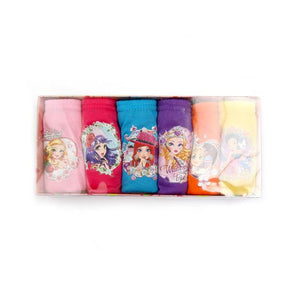 Girls' Briefs - Assorted Colors - Fairytale Princess Print