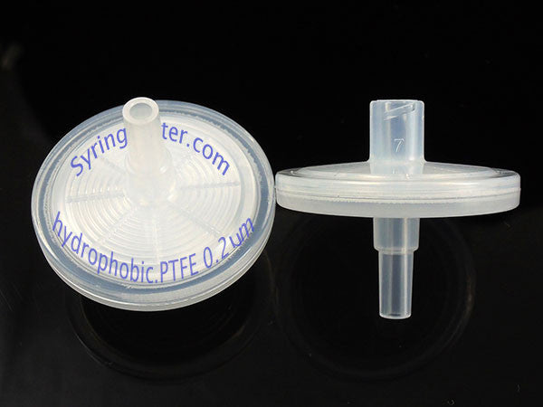 30mm  Hydrophobic PTFE Filter 0.2 µm 100pcs/Pack (Non-Sterile)