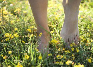 THE BENEFITS of being BAREFOOT