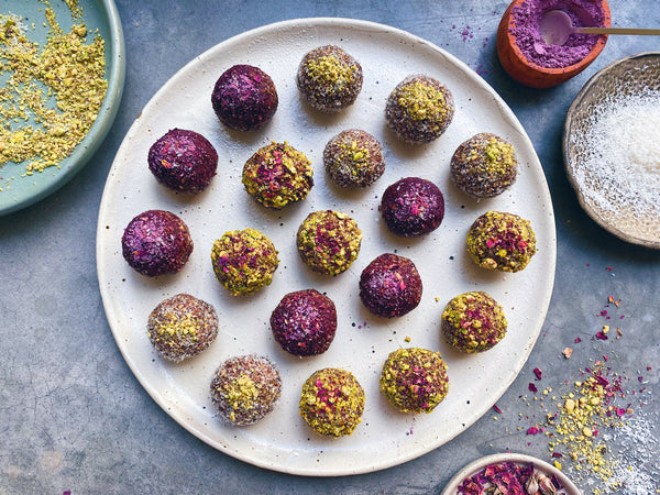 DIRTY ROSE CHAI BLISS BALLS