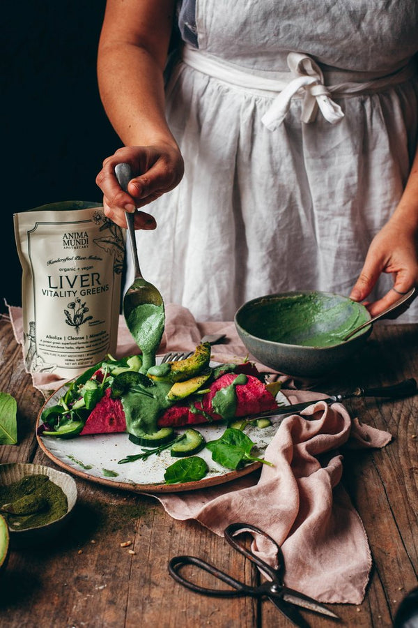 Liver Cleansing Tahini Dressing Recipe