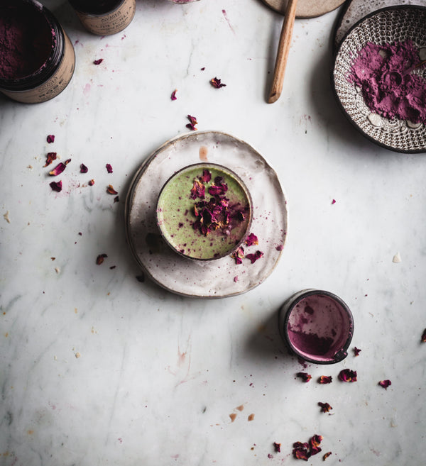 MOOD BOOSTING Mucuna Rose Matcha