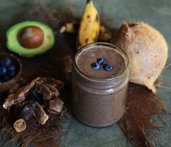 THE BEST Mushroom Chocolate Smoothie