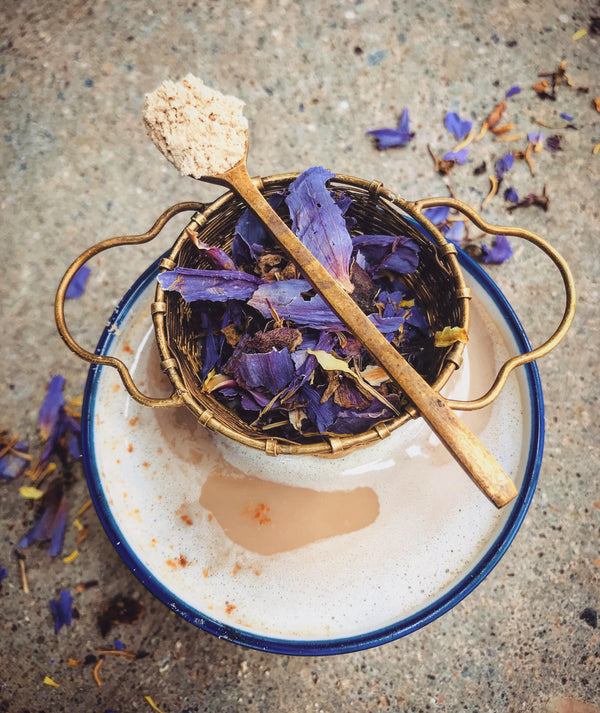 Third Eye Latte : Blue Lotus Mucuna Magic