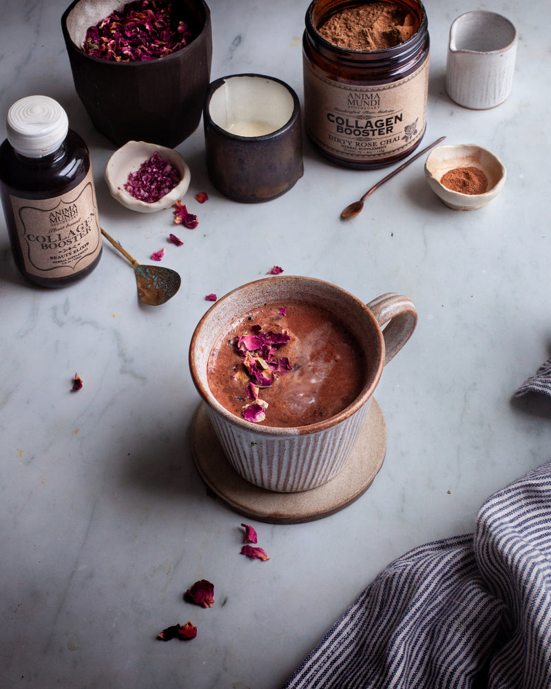 COLLAGEN BOOSTER Dirty Rose Chai : Plantbased