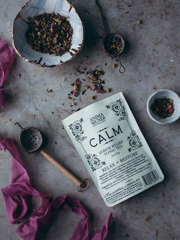CALM : Stress Relief Tonic Tea