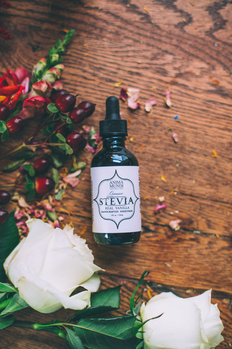 REAL STEVIA + Vanilla  *NEW higher potency liquid sweeter!