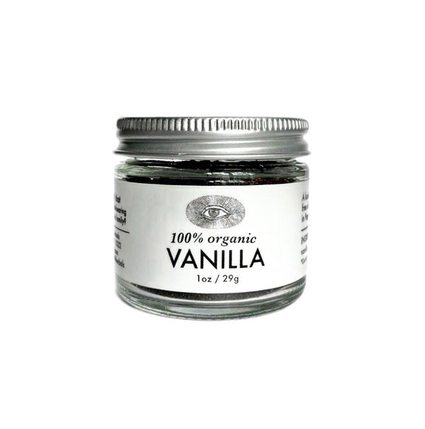Vanilla, 100% Organic, Raw, Unrefined