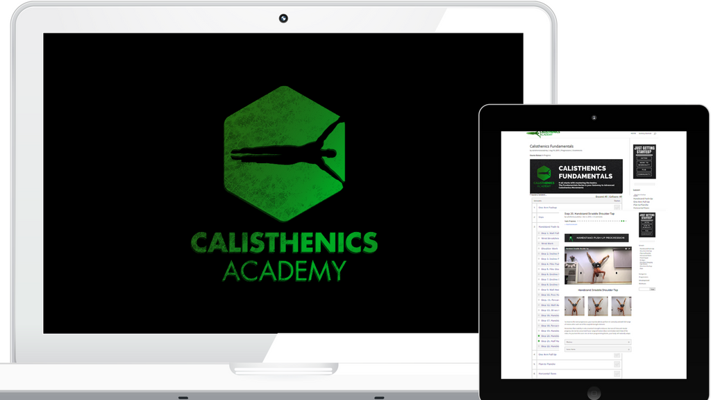 Book Upgrade to Calisthenics Fundamentals Video Course Early Access