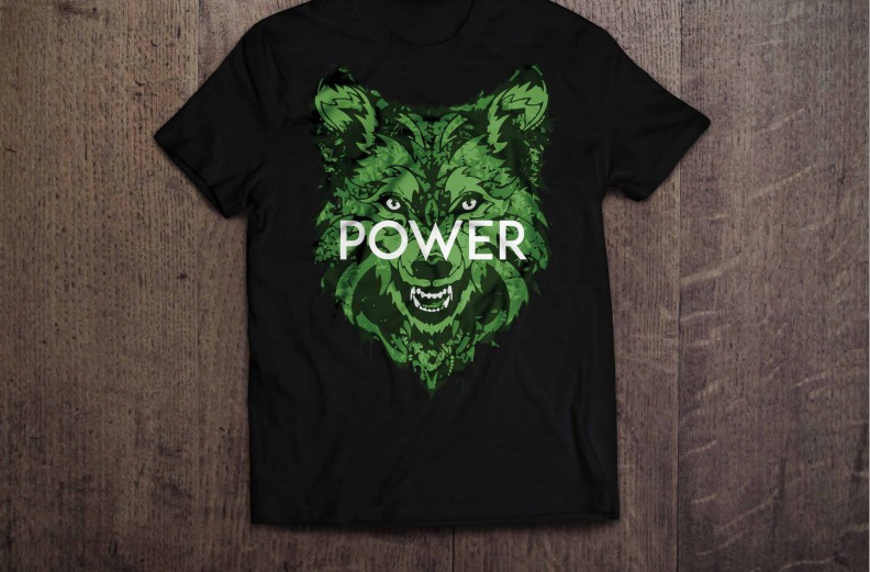 Wolf Power T-Shirt