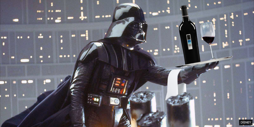 Darth Vader questioned in connection with the destruction of 'Wine Planet' - Uproot Wines http://bit.ly/1QMutwg