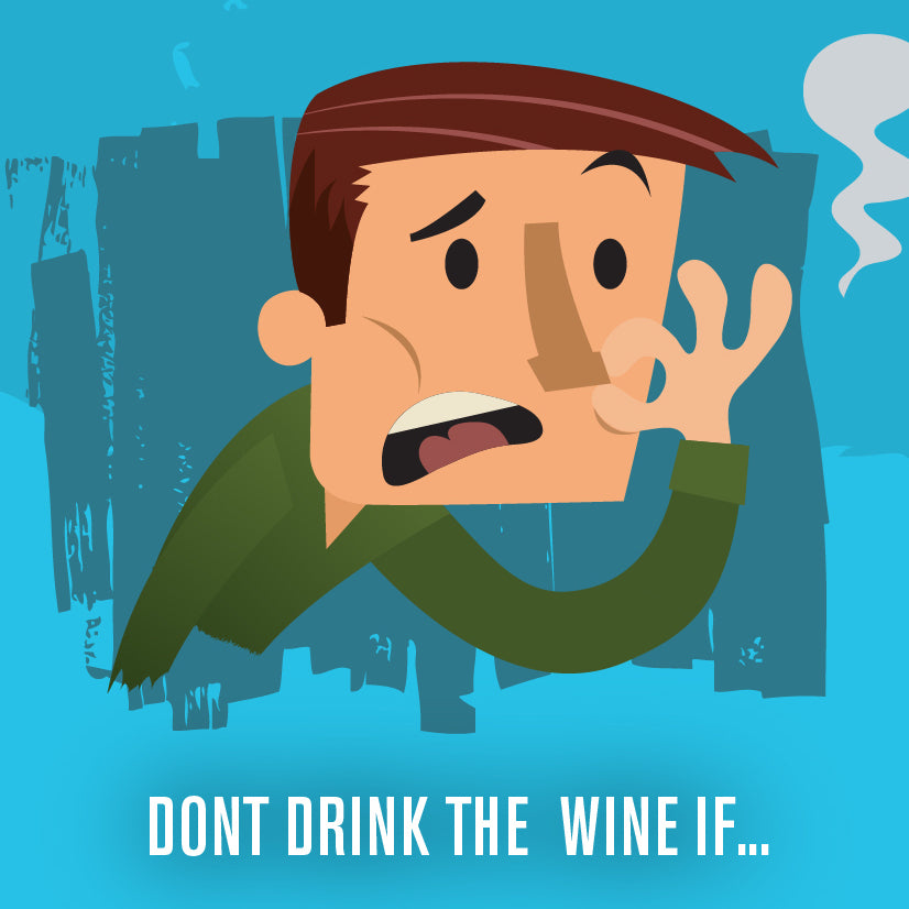 Learn the DOs & DON'Ts behind storing your wines and when they've officially gone from drinky to stinky!