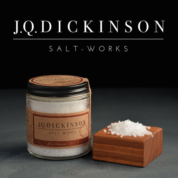 Pure, natural JQ Dickinson Sea Salt | UPROOT WINES | http://bit.ly/2646Pme