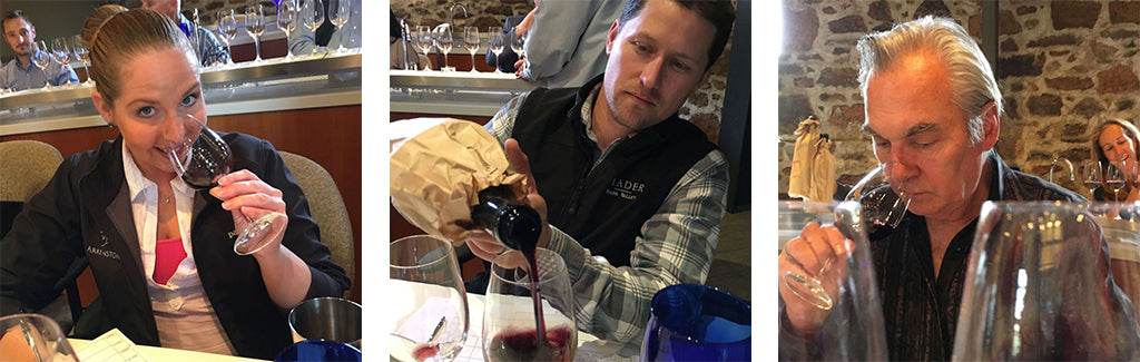 Napa Valley Cabernet tasting panel | UPROOT WINES
