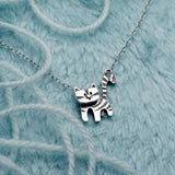 Curious Cat Necklace (with moving head)