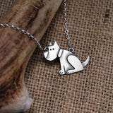Patient Dog Necklace (with wagging tail)