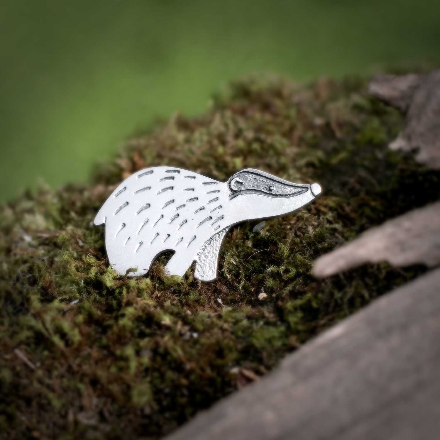 Night Badger Necklace