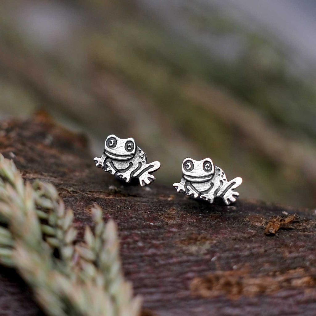 Little Frog Earrings