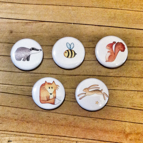 Pin Badges ( 5 designs)