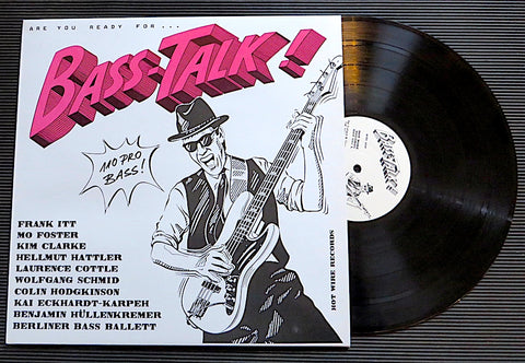 "ALBUM ""BASS-TALK!"" VINYL LONGPLAY NEW!"